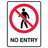 Prohibition Signs Manufacturers