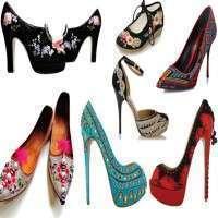 女士绣花鞋 制造商