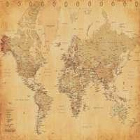 World Map Manufacturers