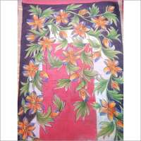 Hand Printed Sarees Importers