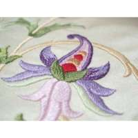 Hand Embroidered Silk Fabrics Manufacturers