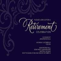退休邀请 制造商