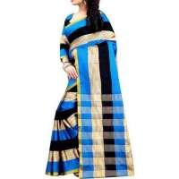 Printed Crepe Saree Manufacturers