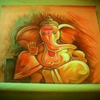Ganesha绘画 制造商