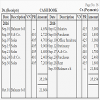 Cash Book Manufacturers