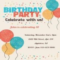生日邀请卡 制造商