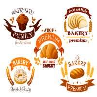 面包店标签 制造商