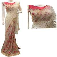 Sequins Work Saree Manufacturers