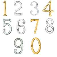 Brass Door Numeral Manufacturers