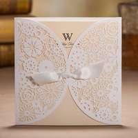 激光切割婚礼卡 制造商