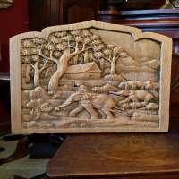 仿古木雕 制造商