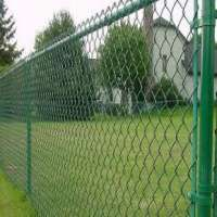 PVC Coated Chain Link Mesh Fence Manufacturers