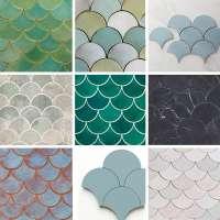 鱼鳞瓷砖 制造商