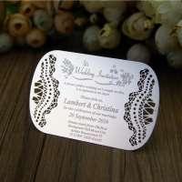 金属婚礼卡 制造商