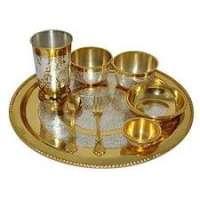 Brass Dinner Set Manufacturers