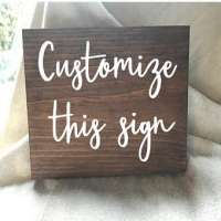 Wood Signs Manufacturers