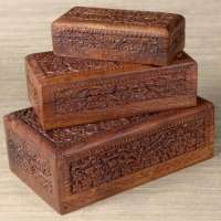 Carved Boxes Manufacturers