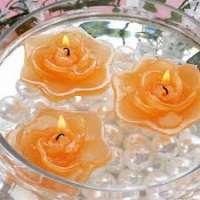 花浮动蜡烛 制造商