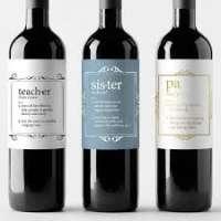 葡萄酒标签 制造商