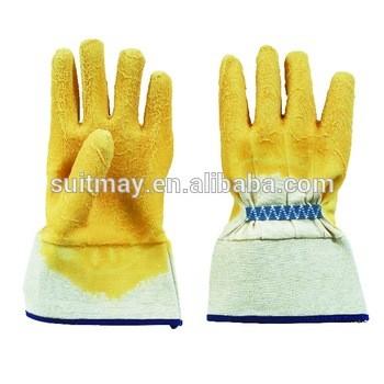 橡胶涂层棉手套
