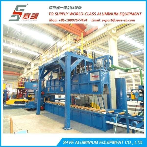 铝挤压型材可转换空气淬火表
