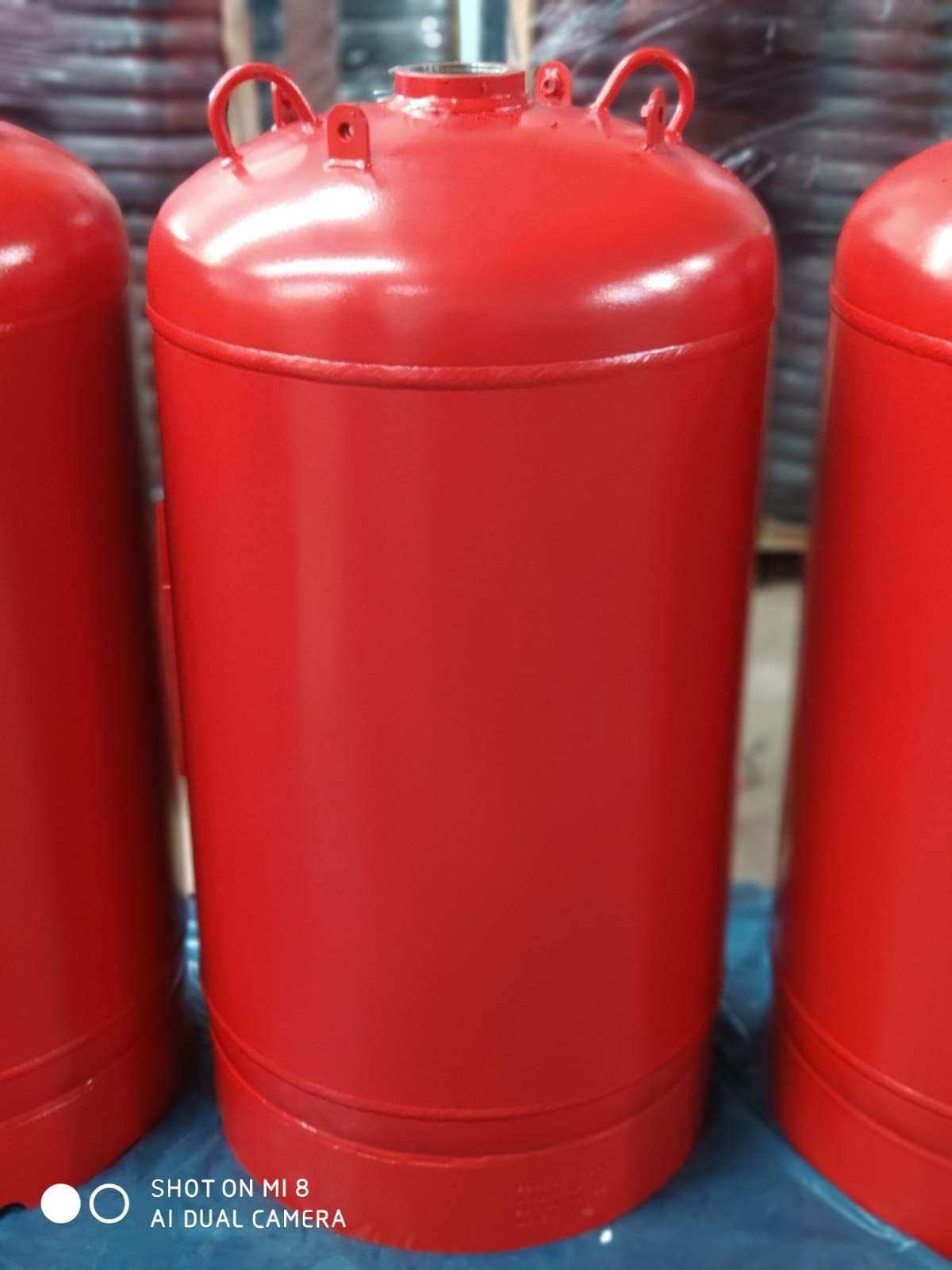 Gas Cylinder (for fire suppression systems)