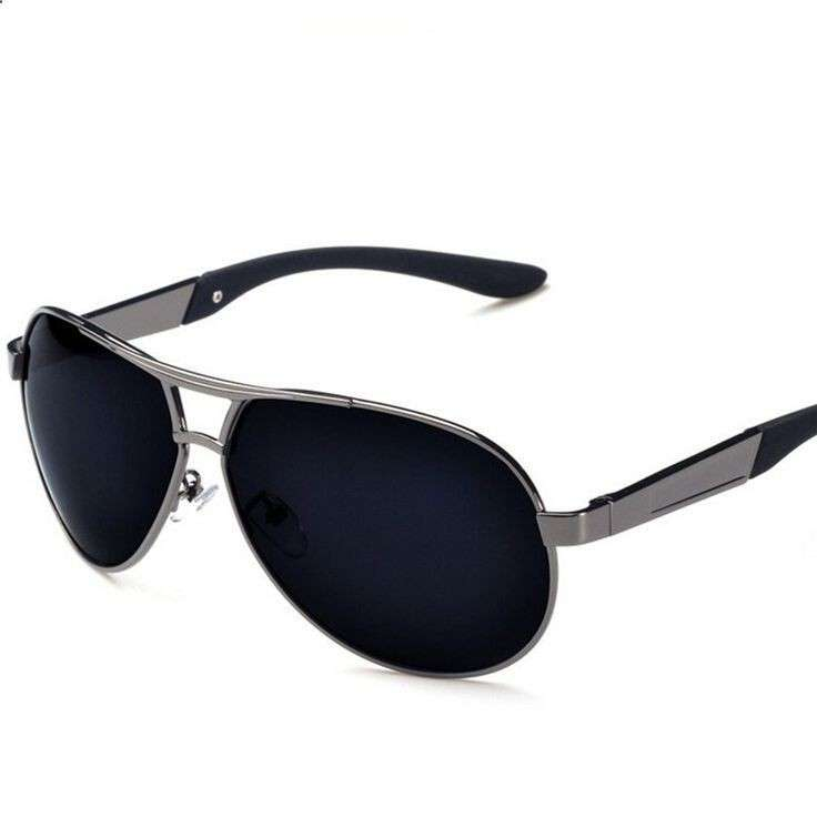 custom polarized metal sunglasses for men