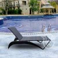 GW3274L1户外家具藤编织泳池家具躺椅