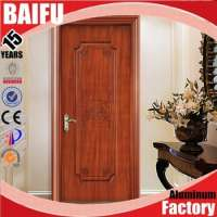 Coated Wooden Door