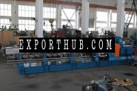 PP granules processing twin screw extruder plastic extrusion machine