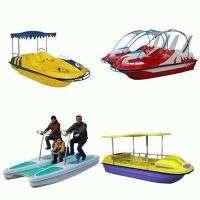 海洋纤维玻璃踏板船