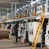 5层瓦楞纸板生产线