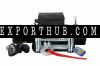 electric 12v winches 9500 lbs 4WD Steel Wire winch ATV boat truck