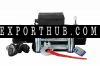 电动12v绞车9500磅4WD钢丝绞车ATV船卡车