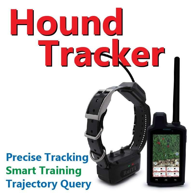 4G GPS Dog Collar VHF Dog Training Collar Hound Tracking