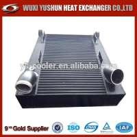焊接水冷却器