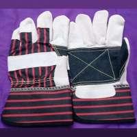 皮革棕榈手套
