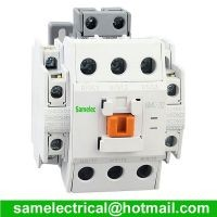 3 Pole Magnetic Power AC Contactor Motor Circuit Protection