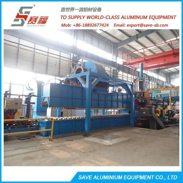 铝挤压型材冷却系统