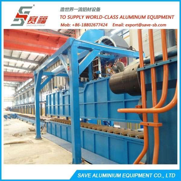 铝挤压型材平衡密集冷却系统与空气水雾