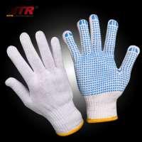 PVC点缀棉手套