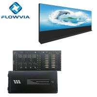 4X4 8X4 8X8 16X16 LCD 4K CVBS VGA DVI HDMI Video Server Video Wall Controller Processor Video Wall Multi Splicing Screen