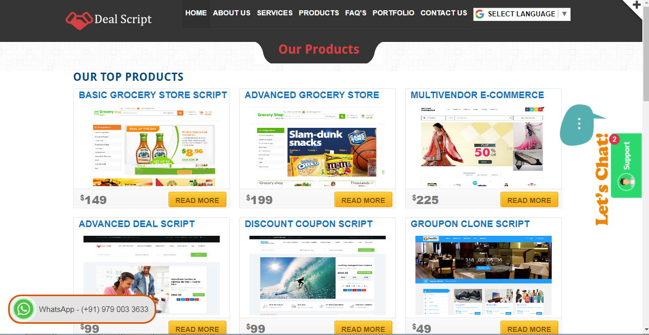 PHP Group Buying Script |  Readymade Ecommerce Software
