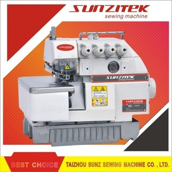 Overlock sewing machine usha
