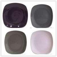 10英寸方形形状晚餐PlateHot方形形状粗陶沙拉盘