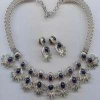 人造钻石项链
