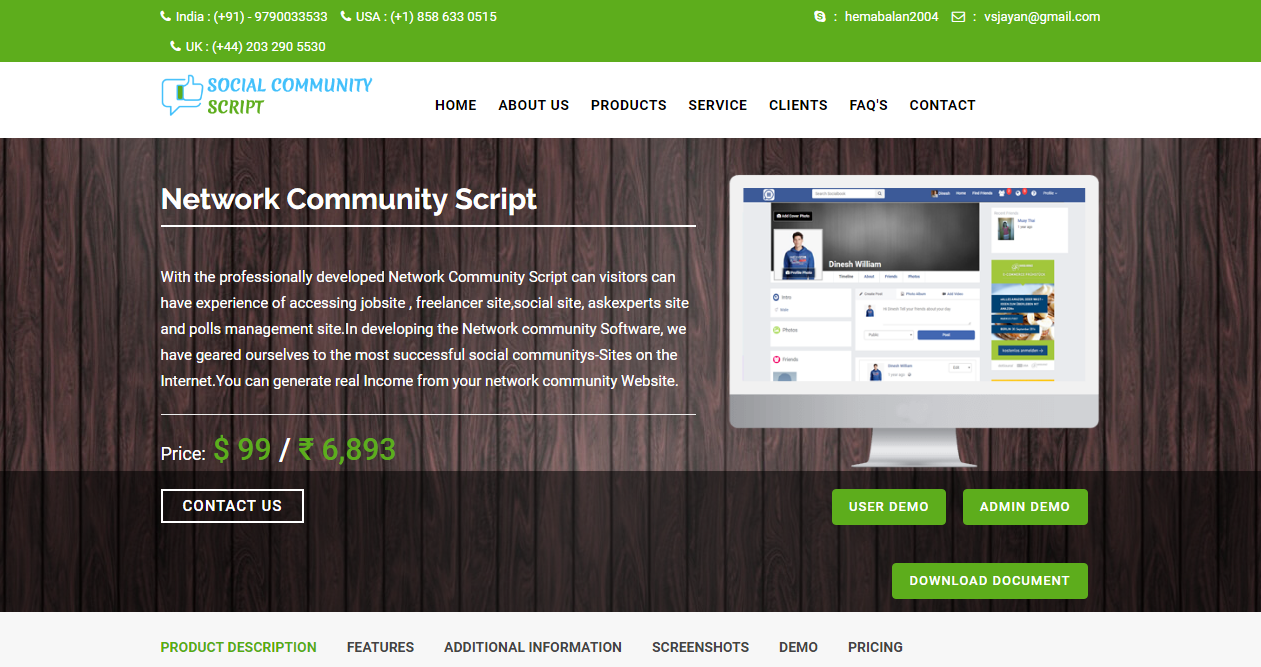 Social Community PHP Script | Open Source Social Network Community