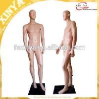 店面显示男性塑料全身模特抽象Head959
