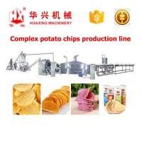 复合薯片生产线珍贵品客薯片碎肉生产线**0250Kgh