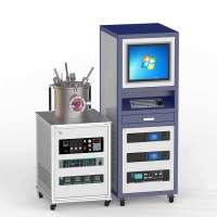 RF 2DC磁控管三靶共溅射复合镀膜设备